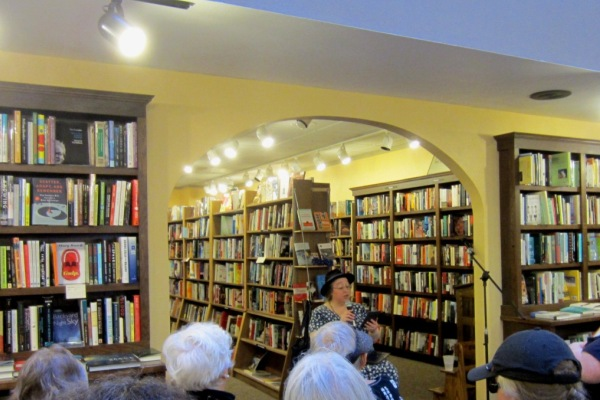 jo walton reading at a room of ones own bookstore in madison