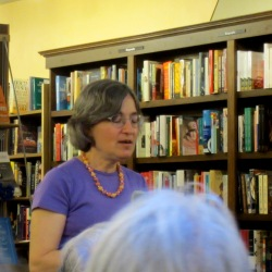 Joan Slonczewski reading at A Room of One's Own Bookstore