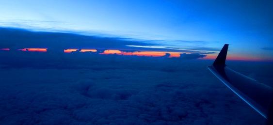 sunset msn-den flight