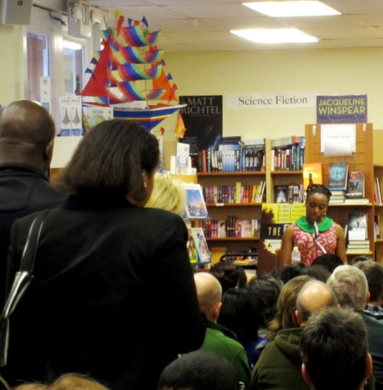 chimamanda ngozi adichie reading in San Francisco