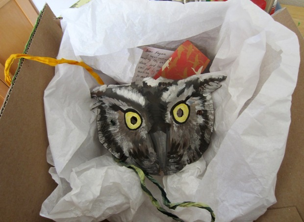 Kater Cheek  - Owl Mask