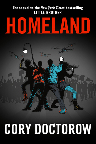 cover-homeland by cory doctorow