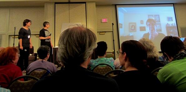 Ellen Klages video at the Tiptree Auction 2014