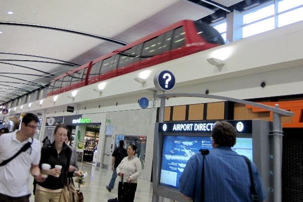 Express Tram Detroit airport